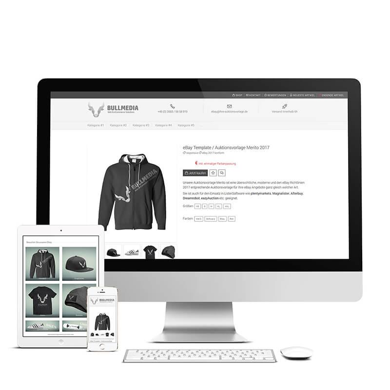 eBay Template Auktionsvorlage Vorlage Design PURUS responsive 2018 ...